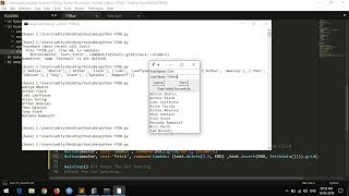 Python #6: Tkinter GUI and Fetching Data from Database (CRUD #2)