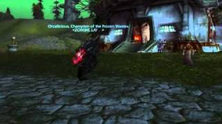 World of Warcraft ZombieLand Winterhoof