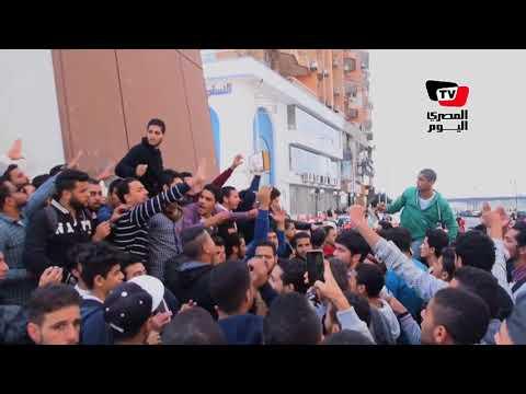 مظاهرات لطلاب جامعة المنصورة لنصرة «القدس» بعد قرار «ترامب»