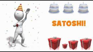 HAPPY BIRTHDAY SATOSHI!