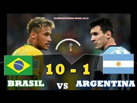 Brazil vs Argentina 10-1