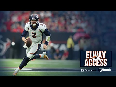 Drew Lock looks like he belongs in the NFL | Elway Access