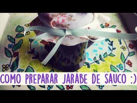 Como preparar Jarabe de Sauco ♥