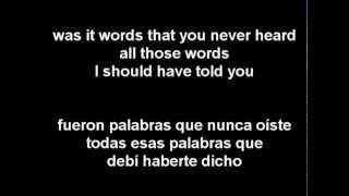 98 Degrees - Was It Something I Didn't Say (Letra En Español)