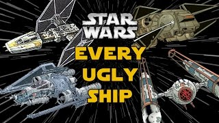 Every Ugly Starfighter from Star Wars Canon and Legends