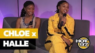 Chloe x Halle on Beyonce, Grown-Ish + Blocking Exes on Social Media
