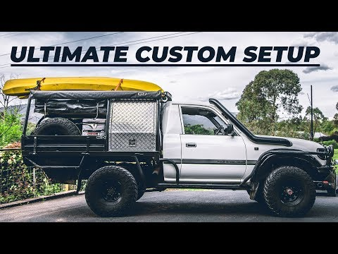 The Best OFF-ROAD Tray Setup | FULL CUSTOM