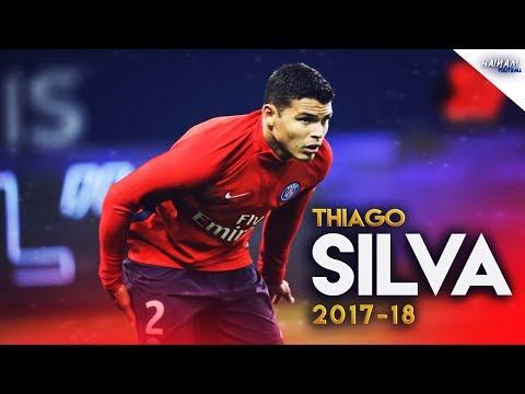 Thiago Silva - PSG - Defensive Skills - 2017/18 HD
