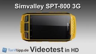 Simvalley SPT-800 3G | Handytest in HD (deutsch)