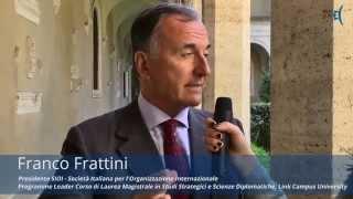 Generazione Proteo: Intervista a Franco Frattini