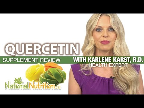 Video Professional Supplement Review - Quercetin