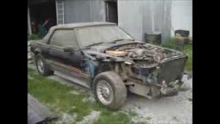 88 Mustang GT convertible rebuild.