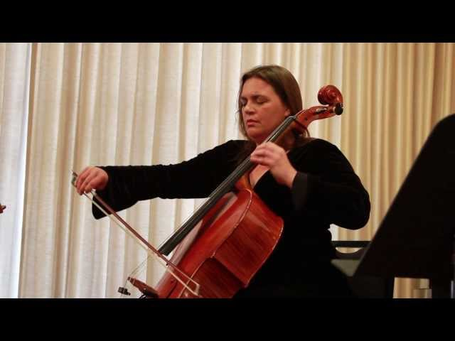 Cellist Michelle Beauchesne Performs at Benning Violins 60th Anniversary