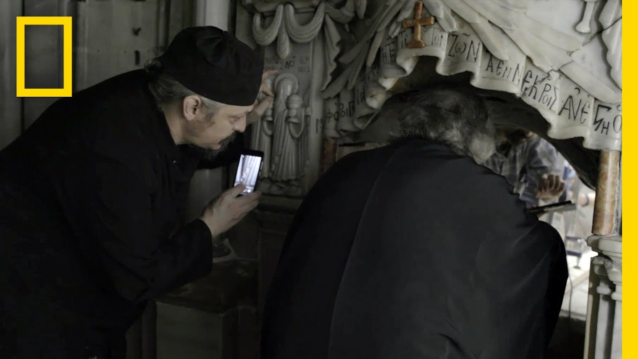 EXCLUSIVE: First Look Inside Christ's Burial Place in Centuries | National Geographic thumbnail