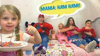 Дана КАК МАМА!!! Играем в Дочки-Матери