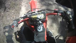 Crf250R engine lock up