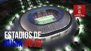 Los 12 Estadios Del Mundial De Rusia 2018