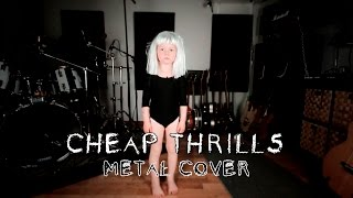 sia cheap thrills metal cover by leo moracchioli chords