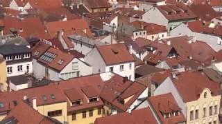 ČESKÉ BUDĚJOVICE Z VÝŠKY - Z Černé věže