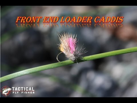 Front End Loader Caddis dry fly tying tutorial