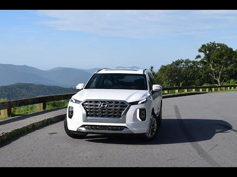 2020 Hyundai PALISADE Limited AWD - Mountains & Blue Ridge Parkway + Gravel Road at 14 min