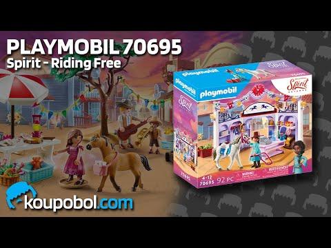 Vidéo PLAYMOBIL Spirit - Riding Free 70695 : Boutique d'équitation de Miradero