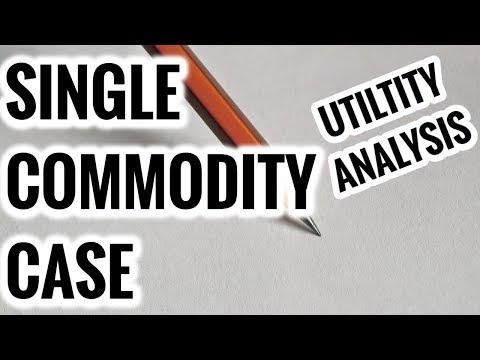Single Commodity Case- Consumer Equilibrium