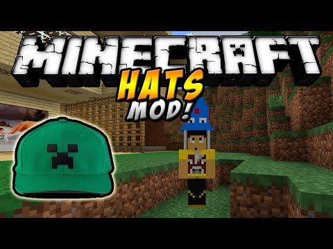 Minecraft – SOMBREROS MOD (Más de 150 sombreros!) – ESPAÑOL TUTORIAL