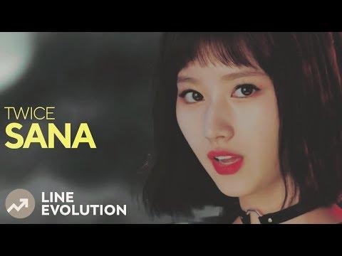 TWICE - SANA (Line Evolution)