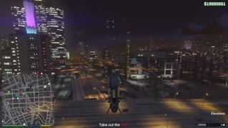 GTA Online Delivering crates in an open session