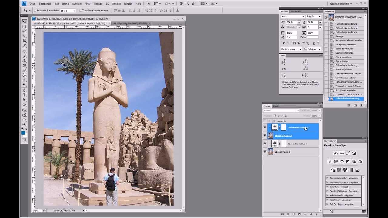3D-Bild erstellen (Anaglyphenbild) – Photoshop Tutorial