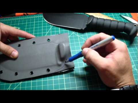 Custom Kydex Sheath Step By Step Tutorial Mp3
