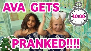 HOW EVERLEIGH TOLD AVA SHE'S GOING TO BE A BIG SISTER!