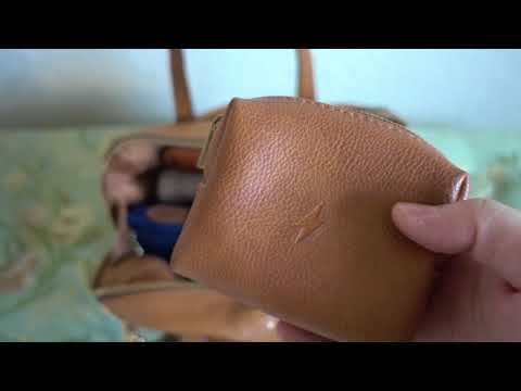 What's In My Bag (Fossil Sydney Satchel) Updated