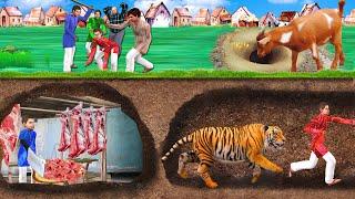 भूमिगत मटन बकरी वाला Underground Goat Mutton Wala Hindi Kahaniya Comedy हिंदी कहानियां Comedy Video