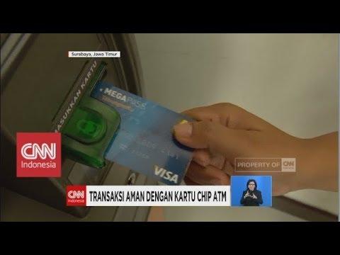 Transaksi Aman dengan Kartu Chip ATM