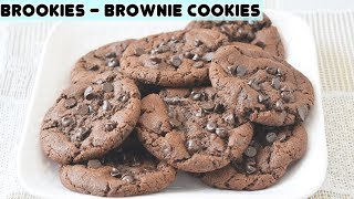 eggless chocolate chip cookies in microwave