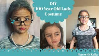 DIY 100 Years Old Lady Costume
