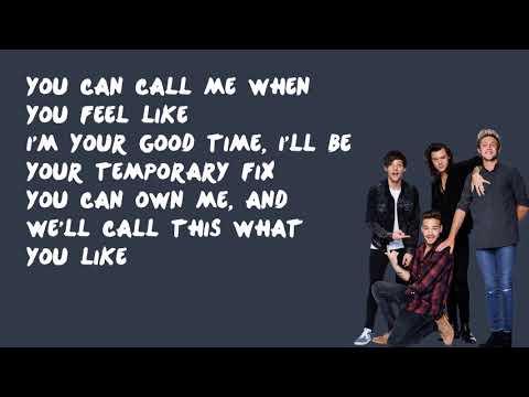 Temporary Fix - One Direction (Lyrics)