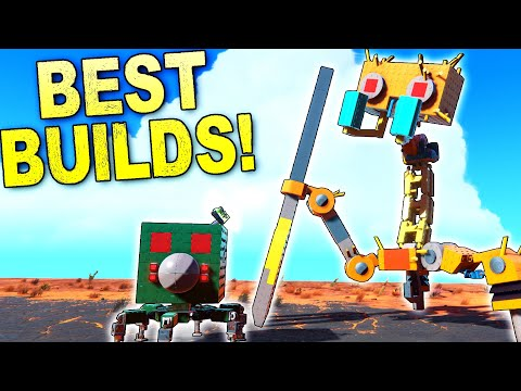 Scrap Mechanic Bots Invade Trailmakers, and MORE! [BEST CREATIONS] - Trailmakers Gameplay