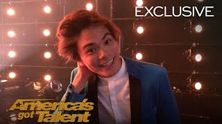 Shin Lim's Emotional Reaction After Winning AGT - America's Got Talent 2018