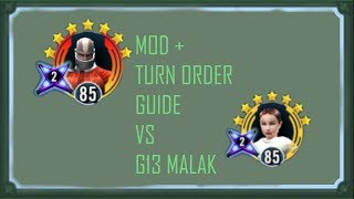Padme vs G13 Malak and Who to G13 1st [SWGoH] - Its Just Ian