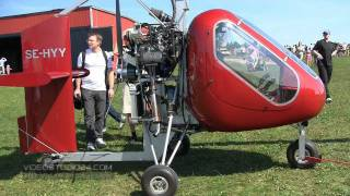 preview picture of video 'Fly-In 2011 Eslöv , Sweden - Event Documentary - Part One'