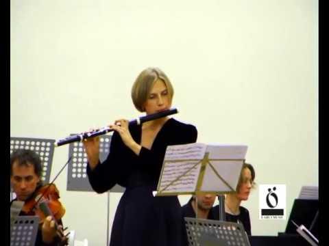 К.Ф.Э.Бах. Концерт для флейты ре минор. Ольга Ивушейкова