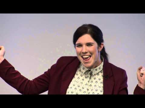 Three Minute Thesis (3MT) 2013 QUT winner - Megan Pozzi