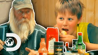 Tony Beets Shows His Grandson How To Fix A Broken Valve | Gold Rush