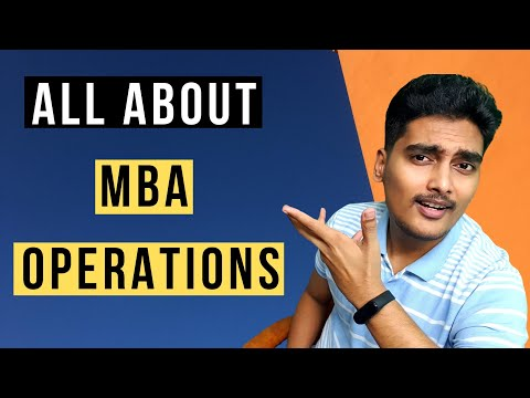 How is MBA in Operations Management? Job Roles, Certifications ...