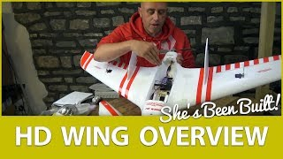 ????️ Build Overview: Sonicmodell HD FPV Flying Wing Build