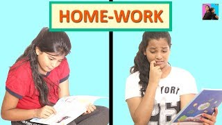 Homework l Moral Story For Kids l Motivational Short Film For Student l Ayu And Anu Twin Sisters