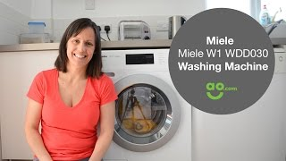 Review of the Miele W1 WDD030 washing machine for ao.com